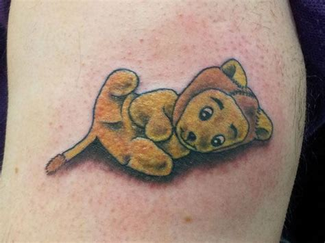 baby bear tattoo baby teddy tattoos 25 sweet teddy tattoos