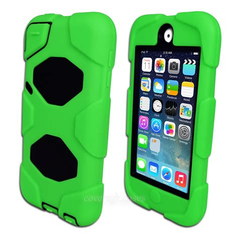 ipod box green tough protective heavy duty for apple ipod