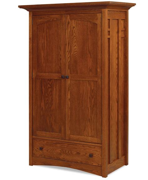 armoire clothes kascade wardrobe armoire amish direct furniture