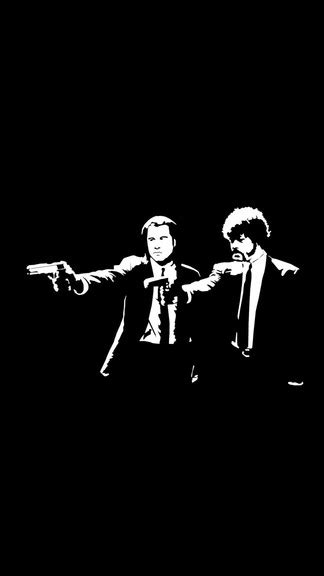wallpaper iphone 5 pulp fiction pulpfiction vincent and jules iphone 5 se wallpaper