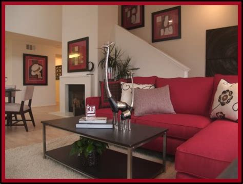 red home decor ideas small living room decorating red colors ideas small room