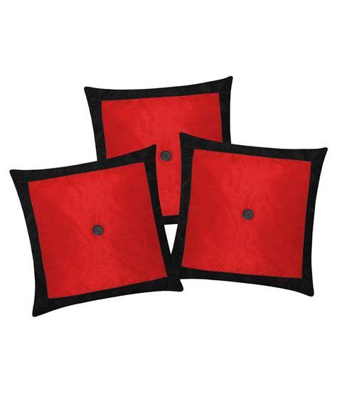 Cushion Cover 40x40 Cm zikrak exim applied border black cushion cover 3 pcs set 40x40 cm buy at best