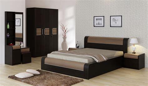 bedroom sets online india spacewood engineered wood bed side table wardrobe