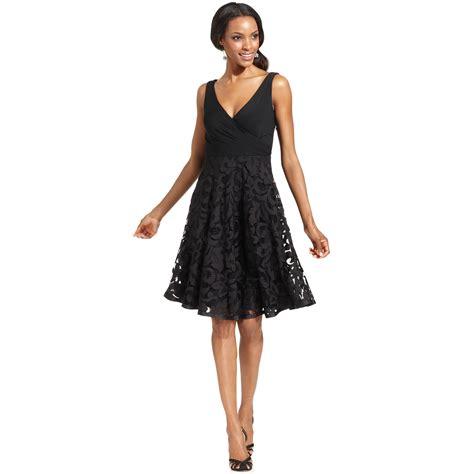 Dress Hodie New York isaac mizrahi new york isaac mizrahi dress sleeveless surplice lace in black lyst