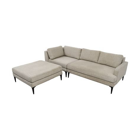 west elm andes sofa 42 off west elm west elm andes terminal chaise