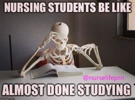 Funny Nursing School Memes - 33 funny and relatable nursing school memes nursebuff
