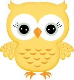 Piyama Wanita Owl Family Yellow yellow owl clipart clipartxtras