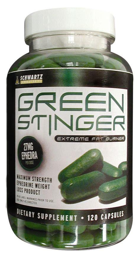 Stinger Detox Dietery Supplemnt by Green Stinger Ephedra By Schwartz Labs Explosive