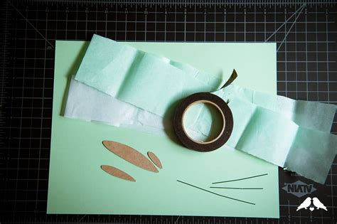 How To Make Mistletoe Out Of Paper - diy tutorial how to make paper mistletoe
