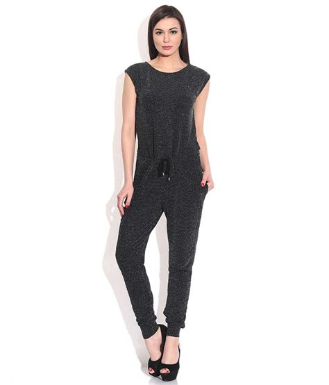 C R Lj Black Jumpsuit buy vero moda black jumpsuit at best prices in india snapdeal