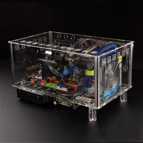 computer desk chassis popular acrylic pc buy cheap acrylic pc lots
