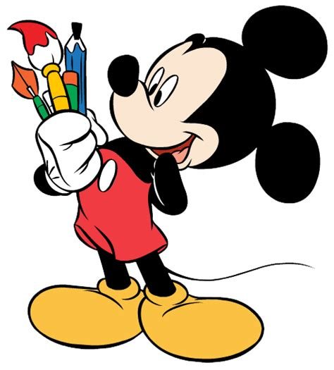 mickey mouse painting mickey mouse clip cliparts co