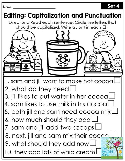 Add The Correct Punctuation Worksheet by 25 Best Ideas About Punctuation Activities On