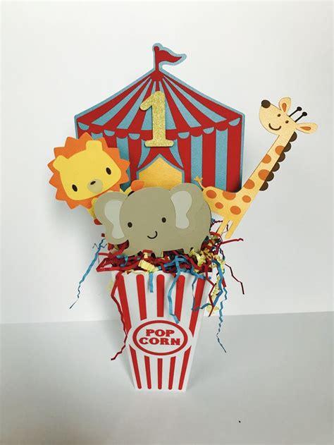 circus centerpiece carnival birthday centerpiece
