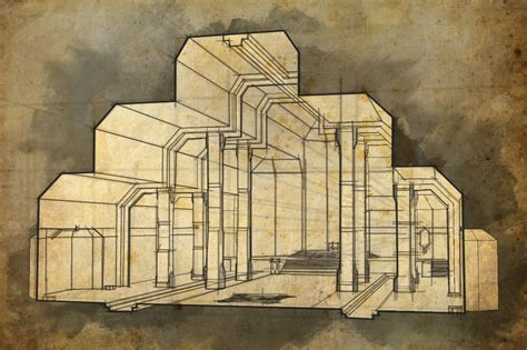 Draw Floor Plans Free erebor throne room perspective1 by meanor on deviantart