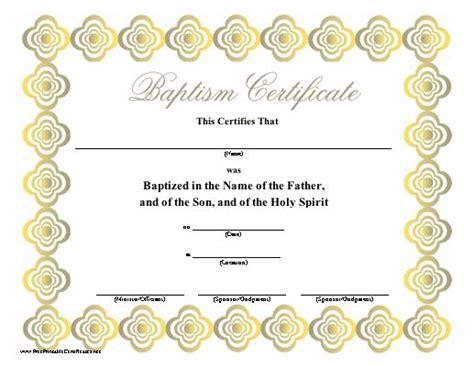 design baptism certificate 8 best baptism certificate template images on pinterest