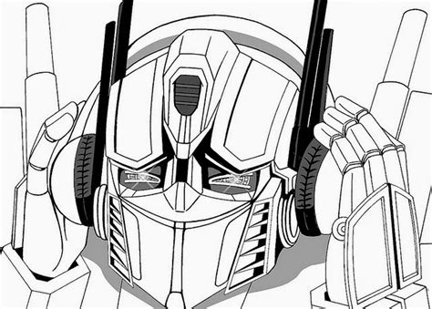 Free Coloring Pages Of Transformers Optimus Prime Optimus Prime Coloring Pages To Print