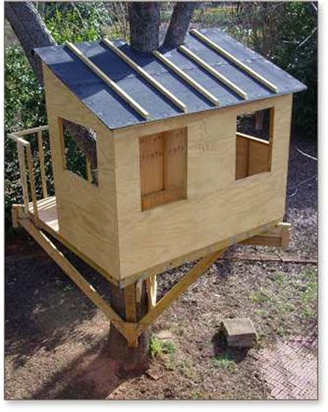 tree house plans for one tree pdf how to build a treehouse in one tree plans free