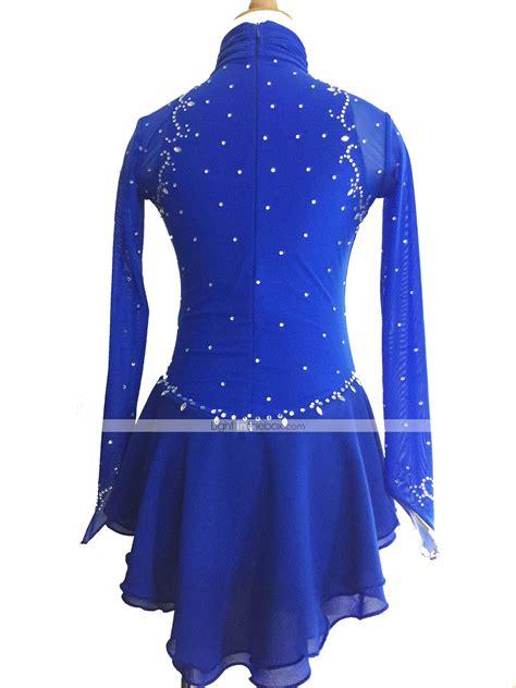 Sweater Skaters Jaket Tengkorak skating dress s sleeve skating dresses figure skating dress elastane royal blue