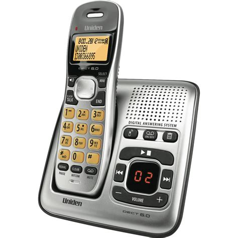 uniden dect1735 cordless phone at the guys