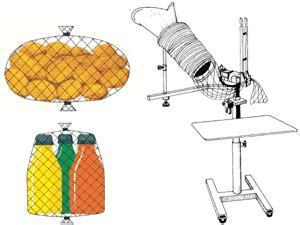 rete per alimenti sigillatrici pneumatiche per alimenti romeo maestri