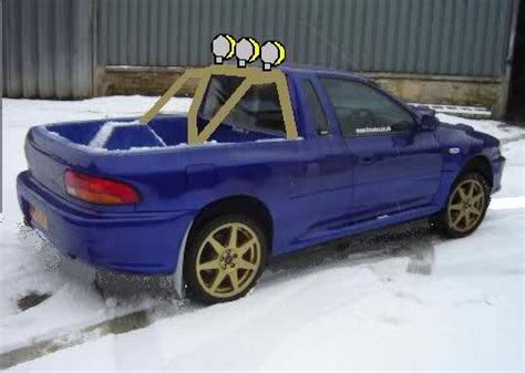 subaru impreza truck impreza truck subaru impreza gc8 rs forum