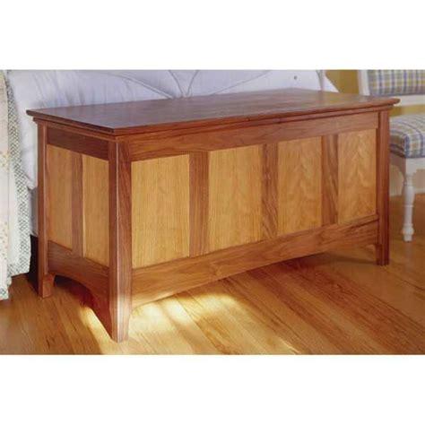 heirloom hope chest woodworking plan wood work