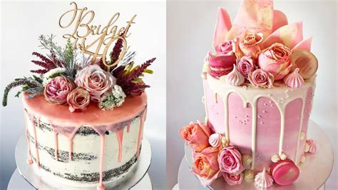 decoration of cake with awesome cake decorating compilation the most satisfying