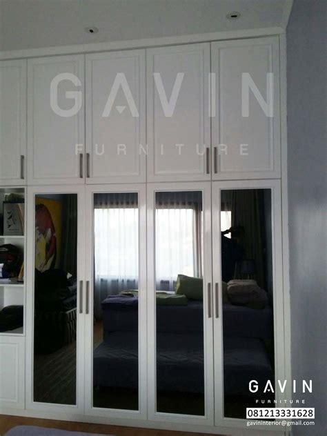 Lemari Pakaian Sliding Warna Putih design lemari pakaian duco putih by gavin kitchen set