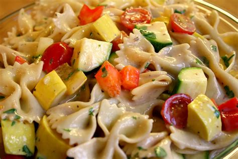 pasta slad so many memories bow tie pasta salad