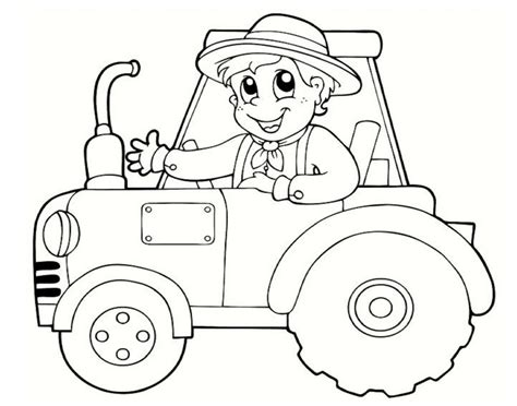 printable tractor coloring pages coloring me