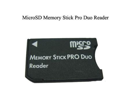 Psp Pro Card Templates by Mmc Flash Memory Card Micro Sd Stick Pro Duo Card Reader
