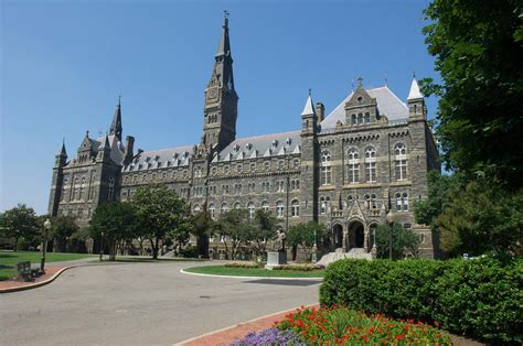 Georgetown Mba Global Ranking by The Top 25 International Business Degree Programs For