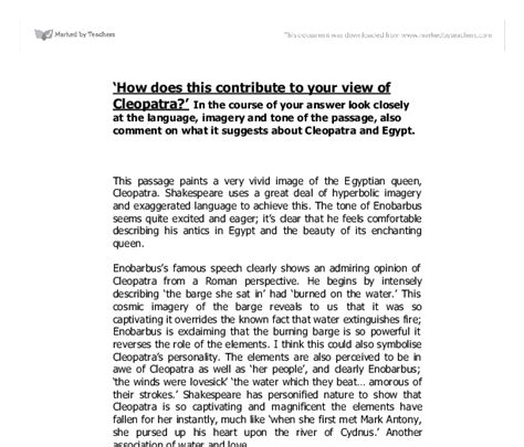 Antony And Cleopatra Essay by Essay Cleopatra Vii Bibliographysetup X Fc2