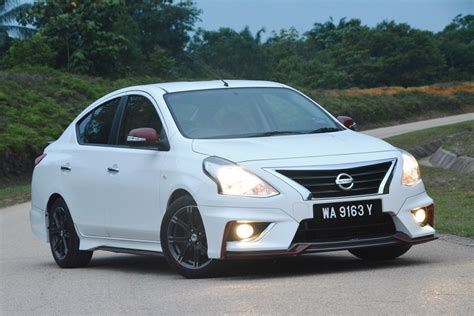 2015 Nissan Almera Vl A T Nismo Test Drive Review