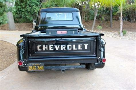rust free pickup beds purchase new 1957 chevrolet 3100 short bed pickup truck rust free california truck