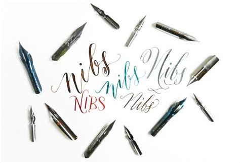 pen nib tattoo the lowdown on calligraphy nibs postman s knock the o
