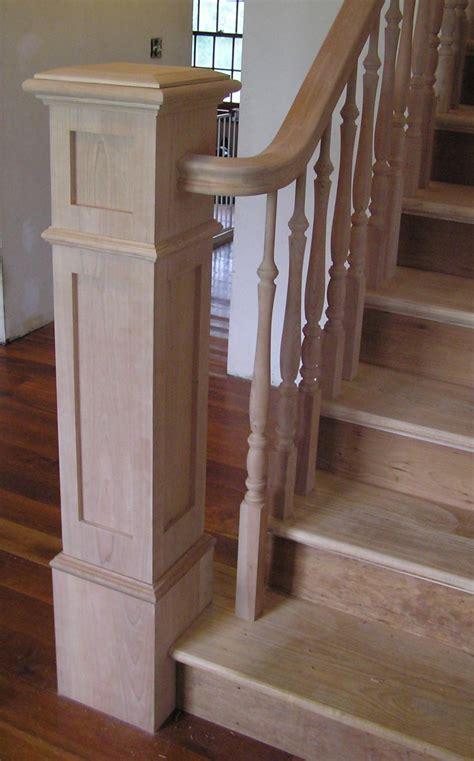 banister newel bennett stair company inc box newels