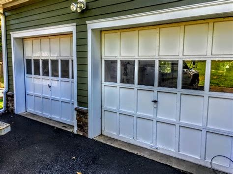 Overhead Door Branchburg Nj Before And After Carriage House Garage Doors