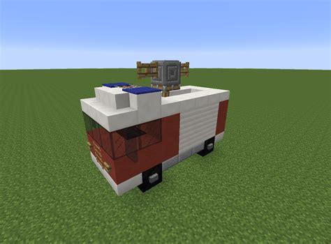 minecraft truck minecraft fire truck