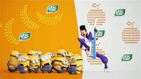 Flavour Shaker Tv Ad 2 by Tic Tac Packs Tv Commercial Minions Flavor Mix Ispot Tv