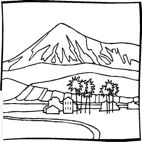 imagenes de paisajes en dibujo dibujos de paisajes para colorear e imprimir