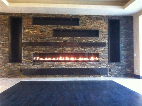 Fireplaces Las Vegas by Las Vegas Linear Gas Fireplace Indoor