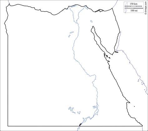 printable map ancient egypt blank map egypt