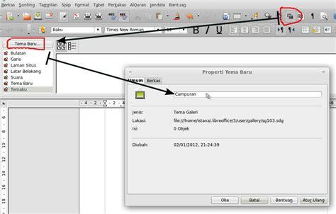 cara membuat kop surat garis cara membuat garis double pada kop surat libreoffice