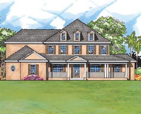 custom country house plans large country custom home with 5 bedrooms and 4 5 baths