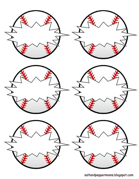 baseball template printable bing images