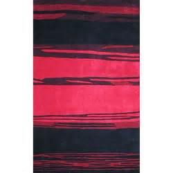 pink and black area rugs bright horizon pink black area rug wayfair