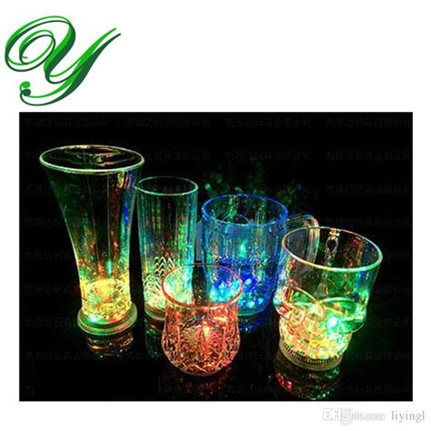 light up drinking glasses party city 2018 led cup flashing wine drinking glasses bar drinkware