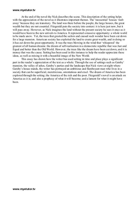 the great gatsby literary criticism essay color analysis essay for